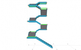 right position for stair in portfolio